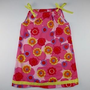 Hanna Anderson Girls Size 12 Pink Floral